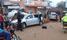 Rider killed in 10-car pileup
