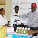 Rotary donates sanitizers to Kamwokya slum