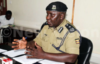 Police boss robbed at gunpoint, disarmed