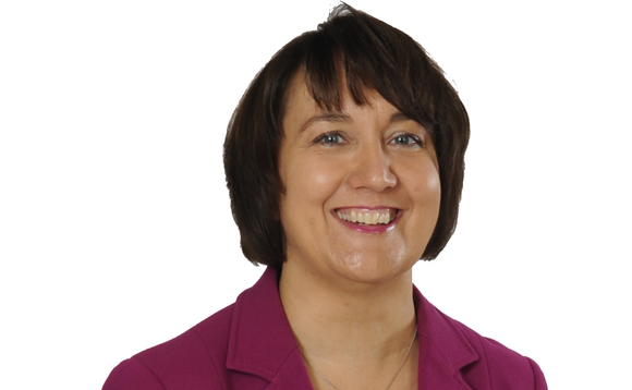 Lorraine Boucher is one of seven UK Aon employees promoted to partner