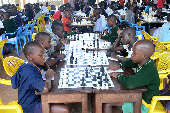 ome of the competitors in the under12 category in action during the hess arents and urdian ssociation hess outh hampionship astern egion qualifiers at inja ollege une 16 2019 hoto by ichael subuga