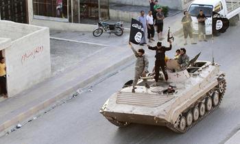 Isis militants 350x210