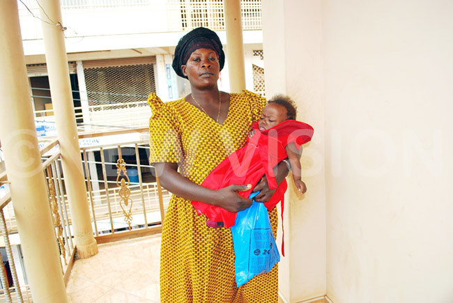 ustine amulindwa moving to different shopping centres in asaka seeking help for child
