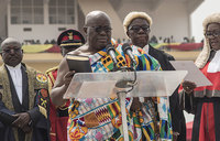New Ghana president to fight gov't corruption