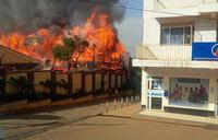 Fire guts famous Kampala Bar Casablanca