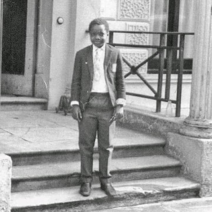 The young Ronald Mutebi