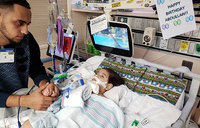 Gravely ill boy whose mother had to fight to visit dies