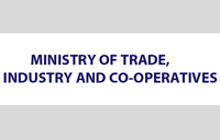 Disclaimer notice from Ministry of Trade
