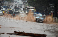 Early Sunday downpour batters Kampala
