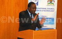 Set research agenda, urges minister Tumwesigye