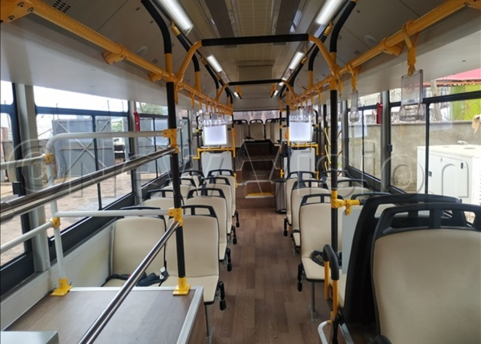 he interior view of the ayoola  bus hoto by uth asejje