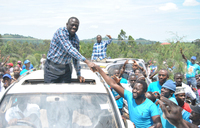 Besigye in Fort Portal for fundraising ceremony
