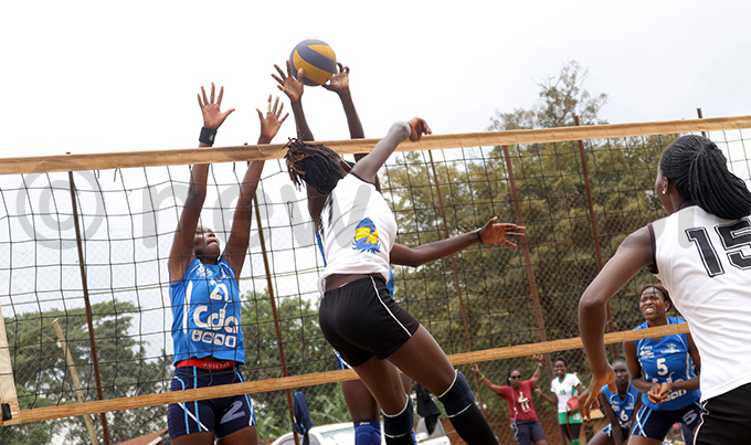 kumbas mily ansiime block ports iana siimwe when they faced off hoto by errick adria