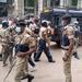 Pictorial: Police deploys at Kampala arcades