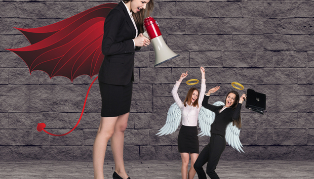 devil-angel-businesswoman