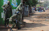Kenya police 'liable' over baby's election protest death