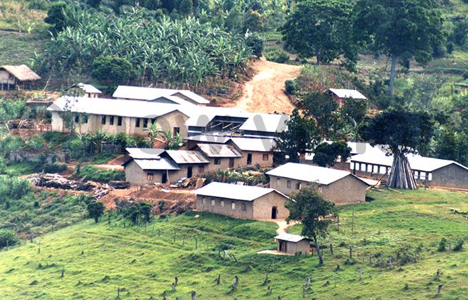 he headquarters of the cult at anungu ile hoto