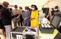 Uganda launches mobile laboratories for COVID19 testing