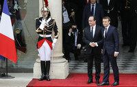 Macron, 39, takes office as French president