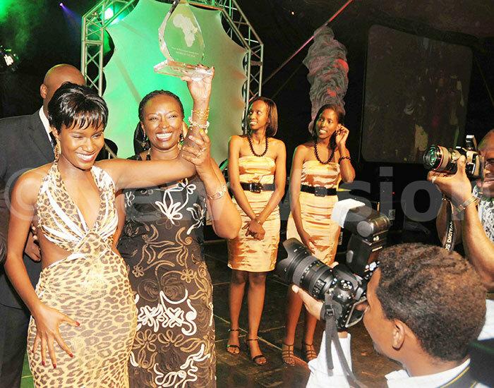 uliana anyomozi won rtiste of the ear ward in 2008