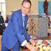 Belgian ambassador lauds Fr Reynaert