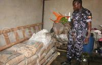 Four arrested with 620 bags of cement