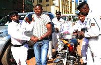 Dramatic police crackdown on 'boda bodas'