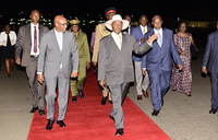 Museveni in Nairobi for Source 21 COMESA summit
