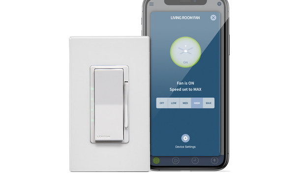 Leviton Decora Smart Wi-Fi 4-Speed Fan Controller review: No hub required