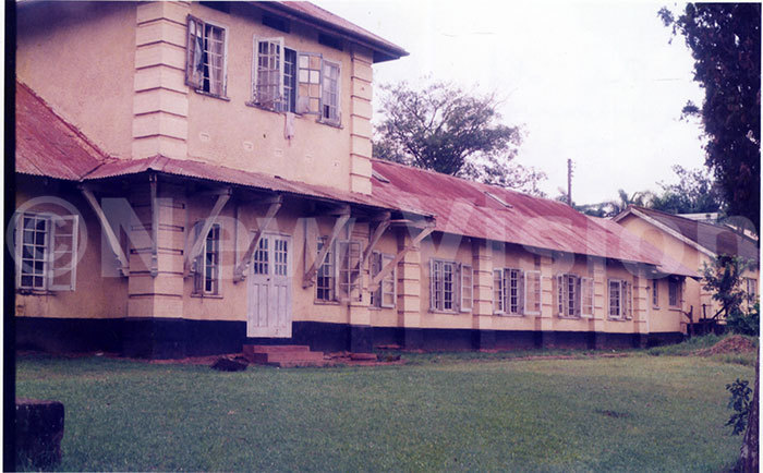 he old hostel of akerere niversity which was constructed in 1920s where former presidents bote and yerere used to stay