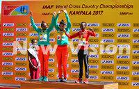 Ethiopia's Gidey defends her World U20 title