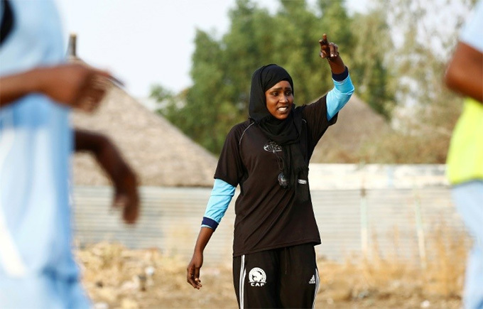 ajidi says she became a coach because there is still no scope for womens football in udan