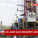 The oil and gas industry is growing