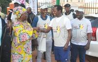 Kadaga graces Pan Marathon in Jinja