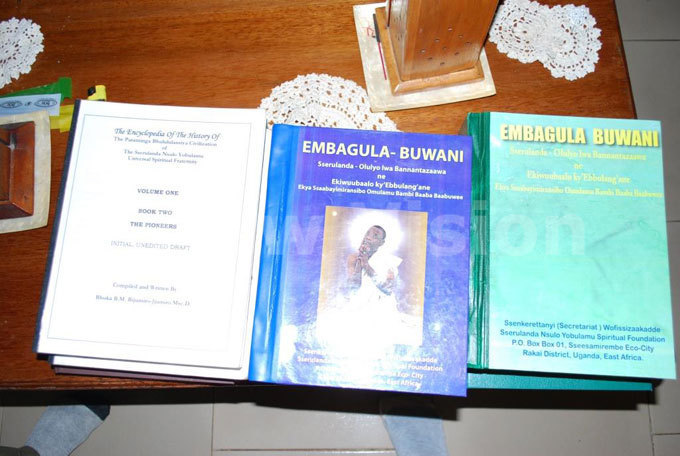 ome of the books used by the followers