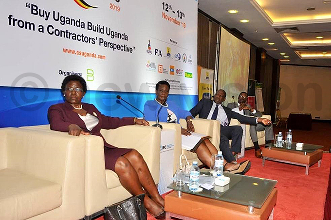 inisters ng onica zuba tege melia nne yambadde and atia asaija during the summit hoto by arim sozi