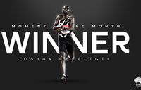 World Athletics votes Cheptegei Athlete of the Month
