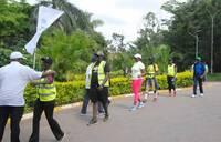 Rotarians walk for hospital