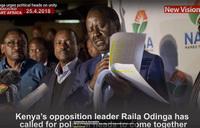 Raila Odinga urges political heads on unity