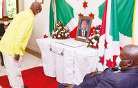 Museveni, first lady mourn Nkurunziza