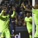 Messi hat-trick restores Barcelona's lead