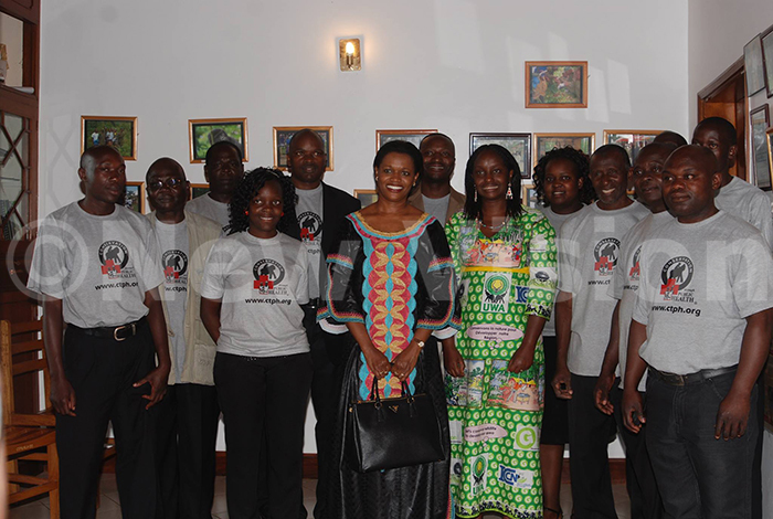 hosted abagereka yvia agginda on its 7th aniversary in 2013 at their  headquarters in ntebbe