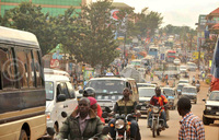 Traffic jam killing Mukono business, leaders petition UNRA