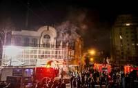 Iran accuses Saudi Arabia of hitting embassy in Yemen air strike