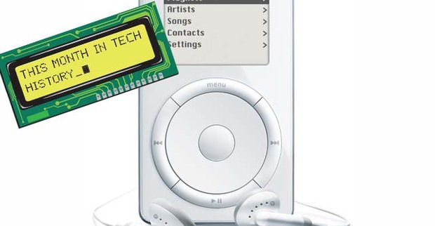 This Month In Tech History October First Ipod Released Idg Connect