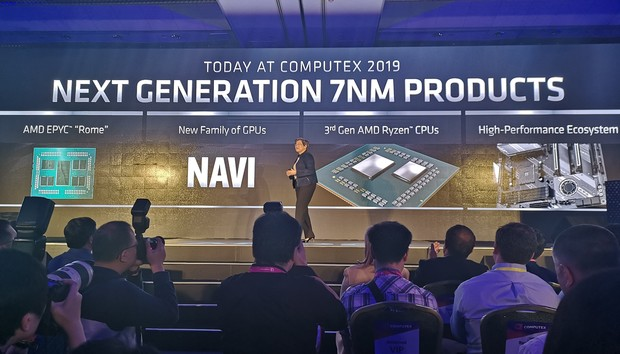 AMD flexes 7nm muscle with a 12-core Ryzen 9 CPU and Radeon RX 5000 graphics cards