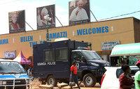 Security ramped up as traders flood Namugongo