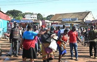 Kibuye market struggles with social distancing