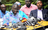 Ugandan opposition chief condemns month of house arrest