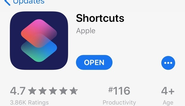 The Shortcuts app for iOS 12 is now available—make sure you grab it!